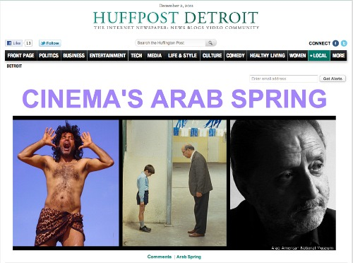 Screenshot of HuffPost Detroit