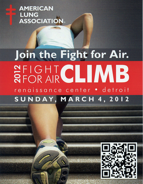2012 Fight For Air Climb in Detroit