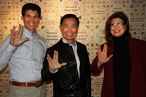 George Takei visits the AANM