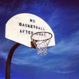 No Basketball After Dark