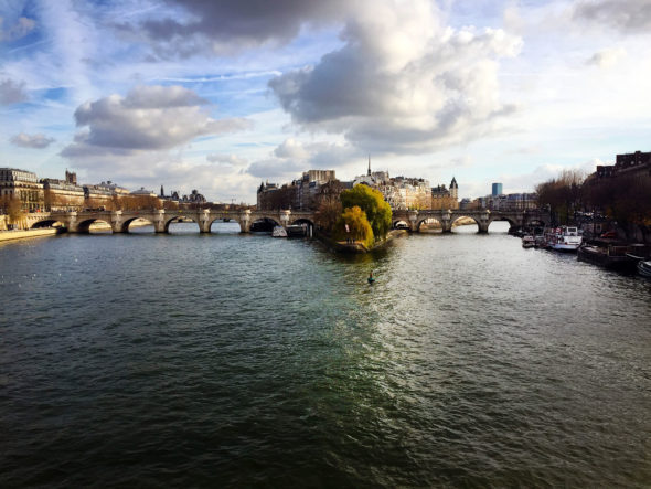 Image of the view of the Seine