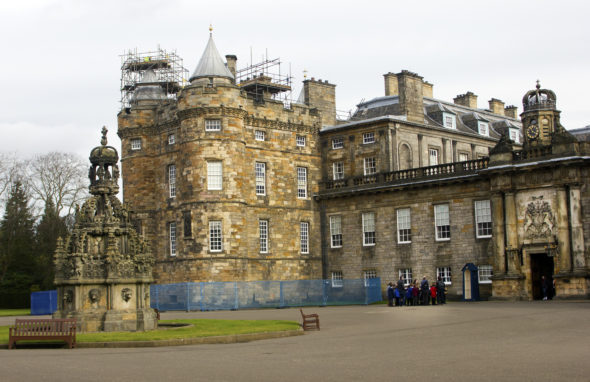 Picture of Holyrood Palace